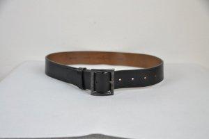 Golden Goose Leather Belt black leather