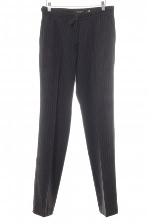 Golden Goose Pantalón de pinza alto gris antracita-gris estampado a rayas