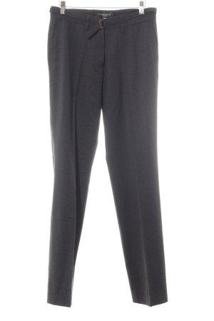 Golden Goose Pantalón de pinza alto gris oscuro estilo «business»