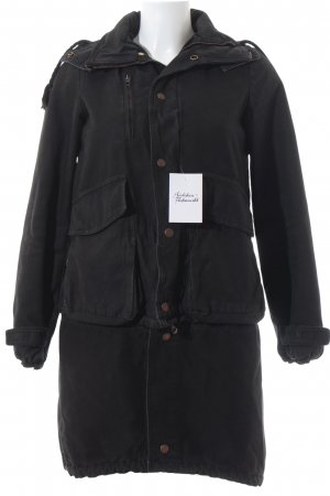 Golden Goose Parka schwarz Urban-Look