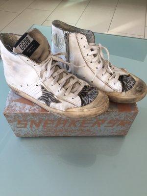 Golden Goose Skater Shoes white-black