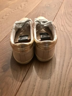 """Golden Goose Sneaker aus Lackleder """"super star"""", rosa"""