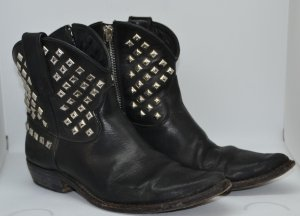 Golden Goose Star Zip Ankle Cowboy Boot 38