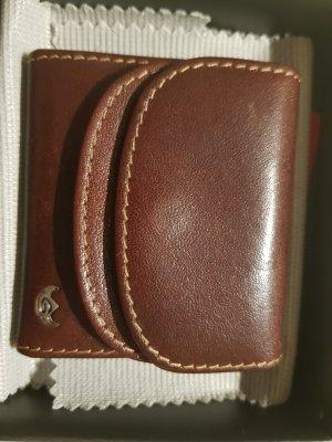 Golden Head Portefeuille brun cuir