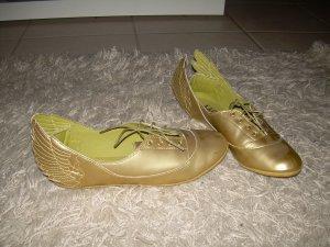 goldene Adidas Schuhe mit Flügeln Gr. 40,5 Jeremy Scott Serie