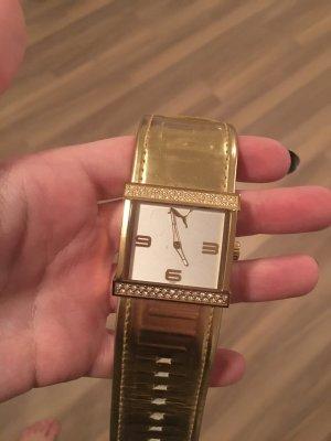 Goldene Armbanduhr Puma