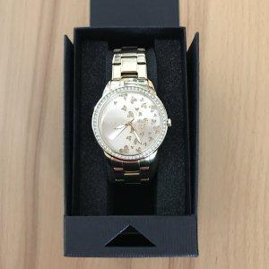 goldene Armbanduhr von ESPRIT