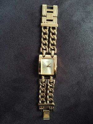 Goldene Armbanduhr von Mango