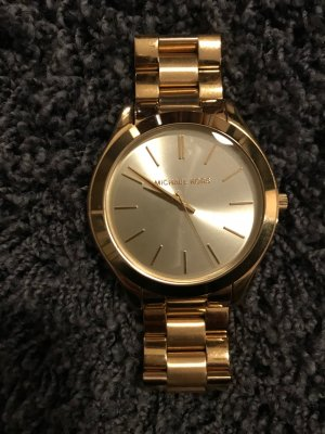 Michael Kors Watch With Metal Strap gold-colored metal