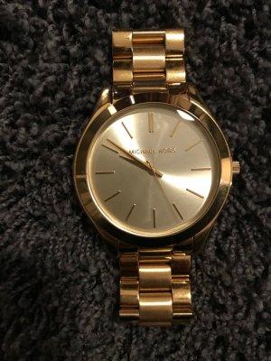 Michael Kors Horloge met metalen riempje goud Metaal
