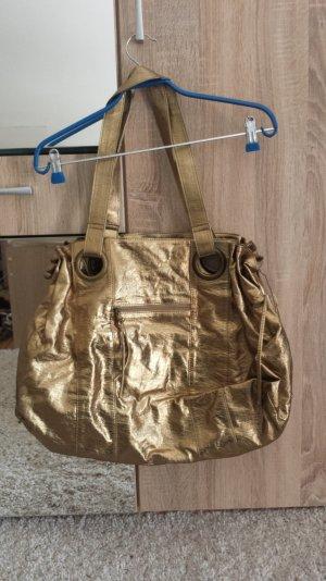 goldene Bulaggi Handtasche neu