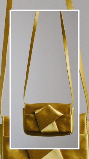 H&M Pochette doré