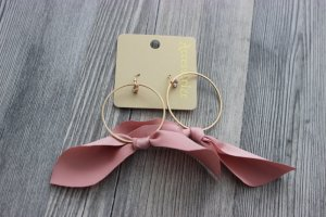 Accessorize Earring gold-colored-pink