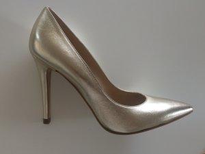 Goldene Evita Pumps (NEU), 39