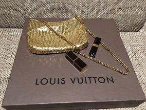 Goldene fashion Abendstasche