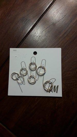 Goldene Fingerringe H&M