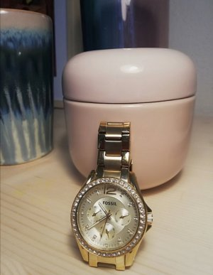 Fossil Self-Winding Watch gold-colored
