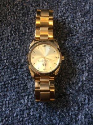 Goldene Friis & Company Uhr