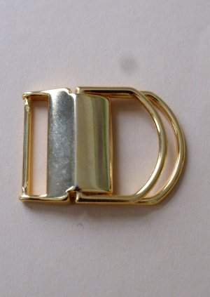 Belt Buckle gold-colored