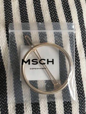 Goldene Haarklammer von Msch