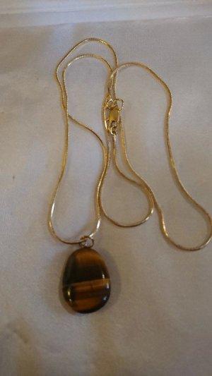 Colliers ras du cou doré-brun