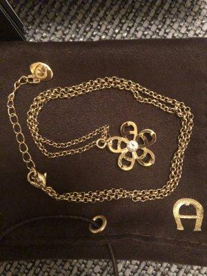 goldene Halskette von Aigner
