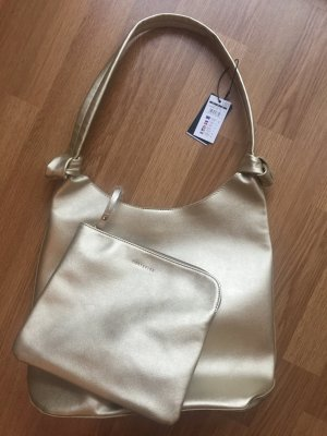 Goldene Handtasche aus Spanien