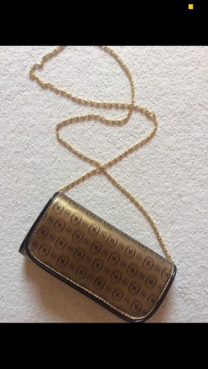 Goldene Handtasche NEU