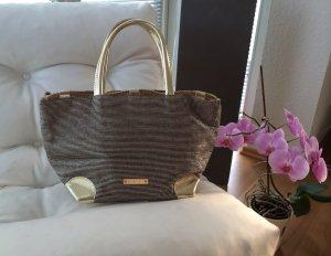 Goldene Handtasche von Sisley