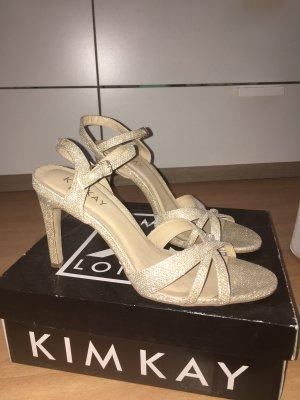 Kim Kay London Tacco alto oro