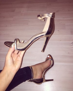 Atmosphere High Heels gold-colored