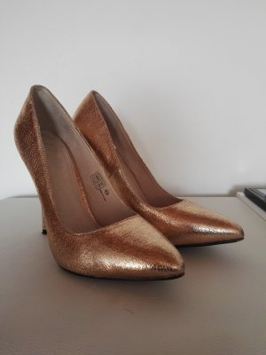Buffalo High Heels gold-colored