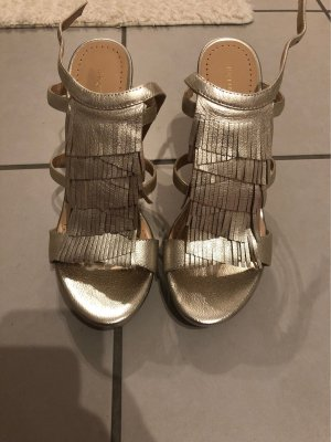 Goldene Highheels in Gr.39