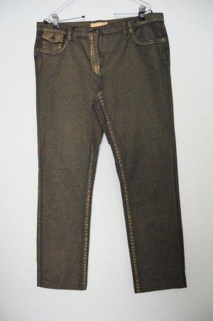 Goldene Jeans Hose stretch von Biba gr.44