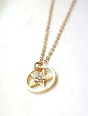 goldene Kette mit Stern