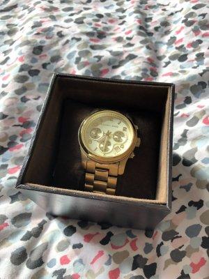Goldene Michael Kors Uhr 5055 Designer