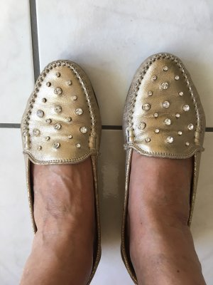 Bottega Mocassins goud