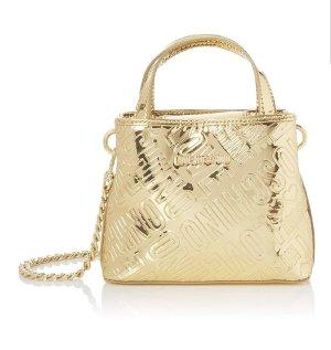 Goldene Moschino Tasche