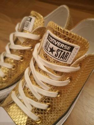 goldene neuwertige all star converse