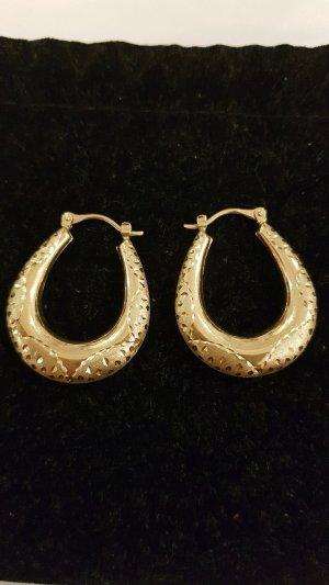 Goldene Ohringe 585