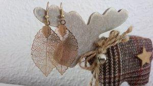 Goldene Ohrringe , 5 cm groß