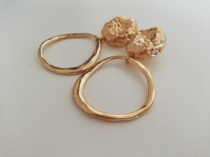 Mango Statement Earrings gold-colored