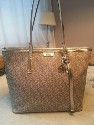 Goldene original DKNY Tasche
