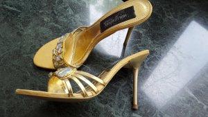 goldene Pantoffeletten