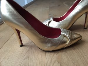 Buffalo London High Heels red-gold-colored
