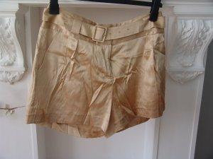 °°°Goldene pure, Seiden-Shorty aus USA, 38 / 40,Neu, mit Gürtel,Shorts°°°