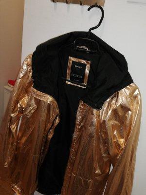 Goldene Regenjacke/Übergangsjacke in Größe S/36