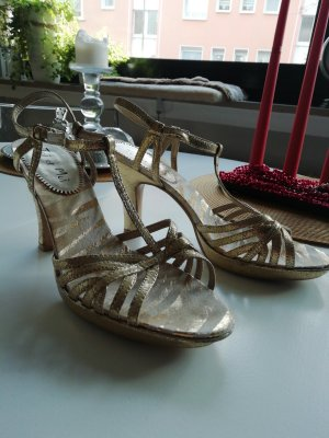 Toi & Moi High Heel Sandal gold-colored