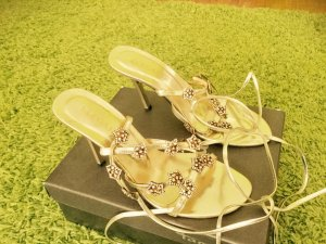 Elégance High Heel Sandal dark yellow