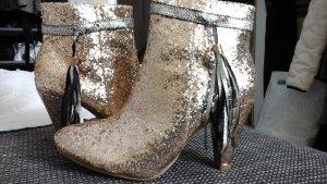 Goldene Schuhe. Neu Gr. 36